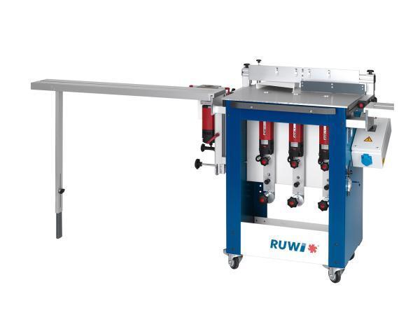 RUWI Tischfräse M - Mehrspindlige Mobile Unterfräse / Oberfräse
