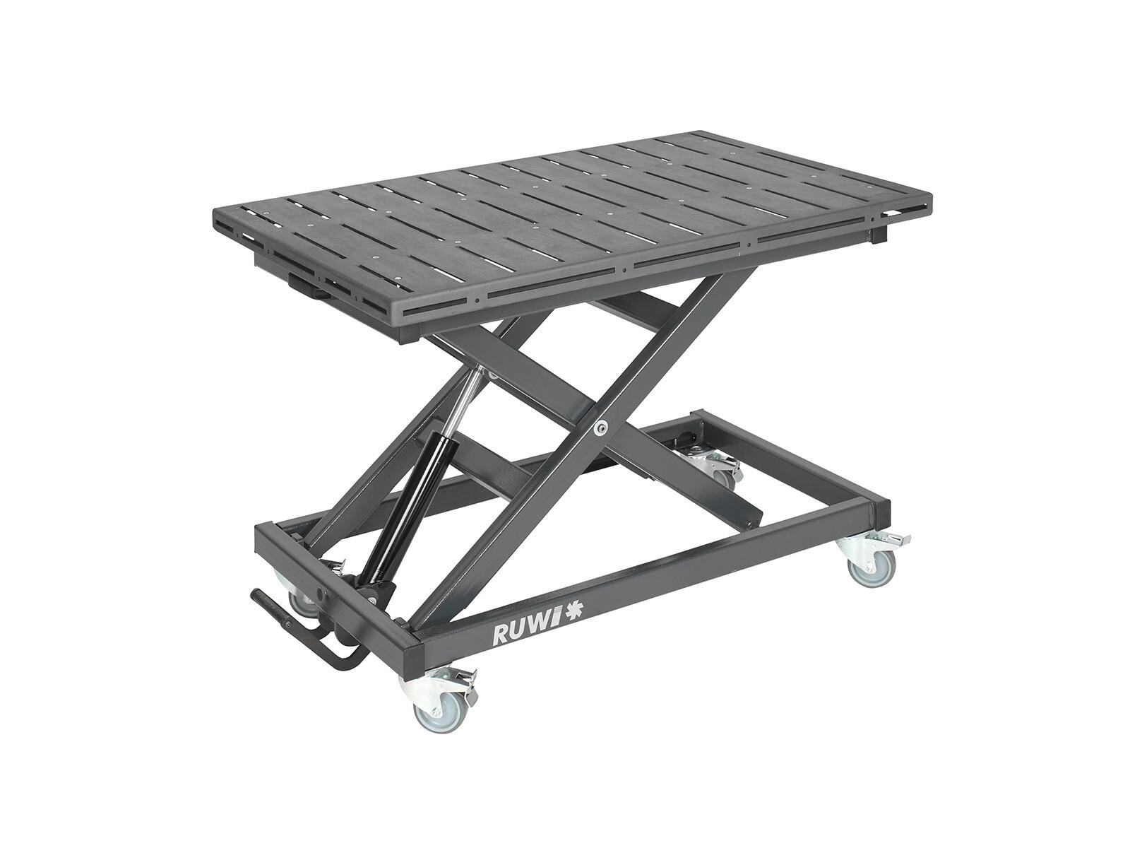 RUWI Schweißtisch Nut - Hubtisch 1200 x 800 mm